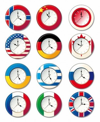 World clock clipart free download.