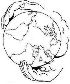 coloring pages god has the whole world in his hands picture.