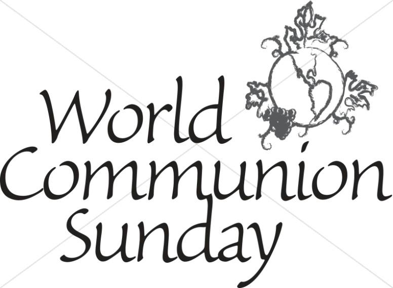world communion clip art #3