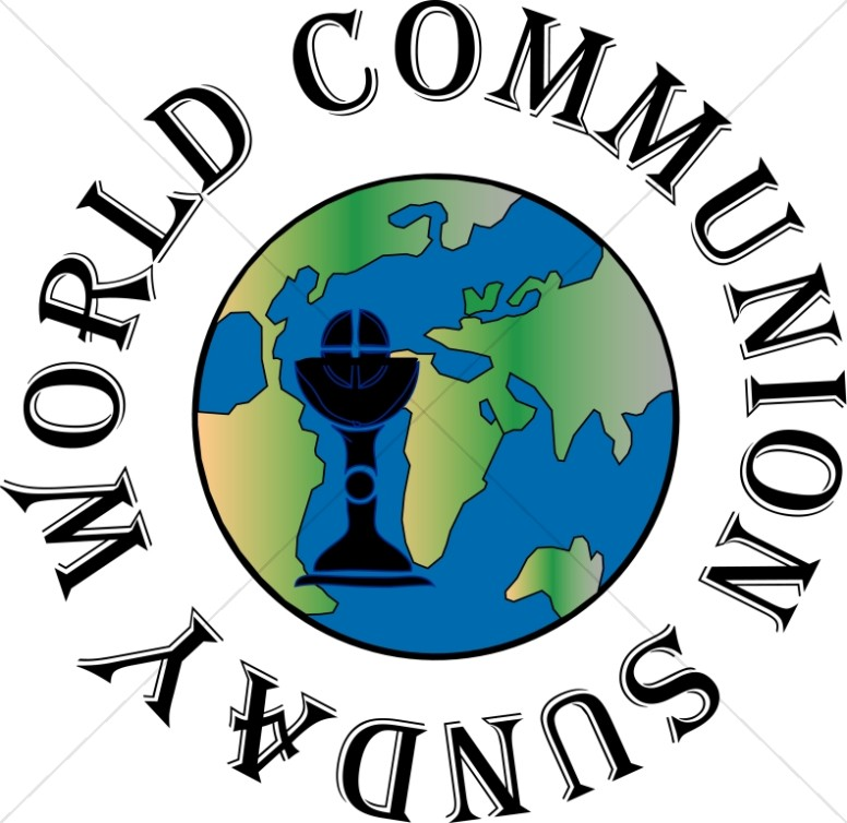 World Communion Sunday Globe.