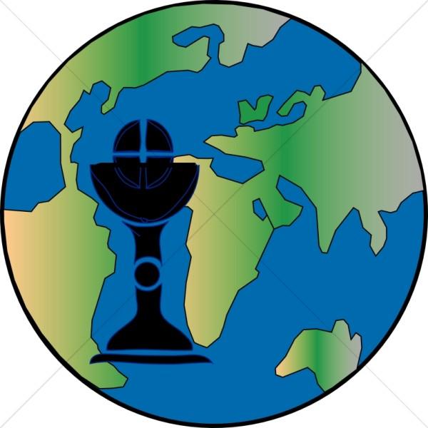 World Communion Clipart.