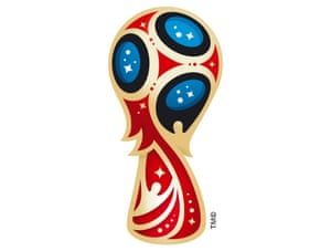 Design an alternative logo for the 2018 World Cup in Russia.