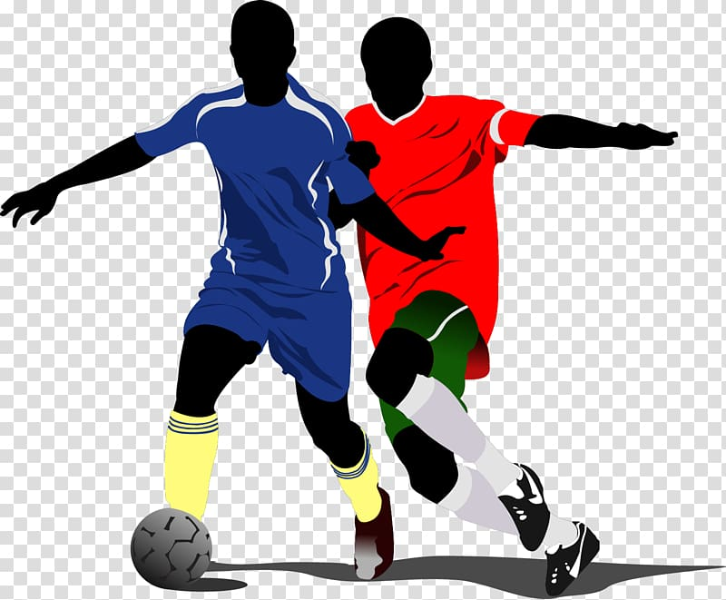 Soccer player silhouette , FIFA World Cup Football player.