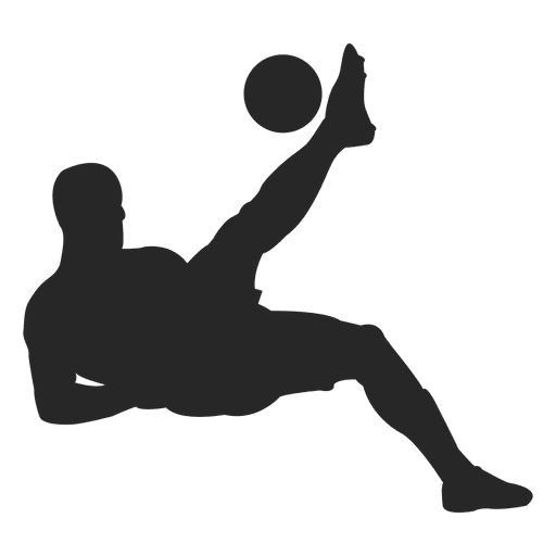 Football player Image Silhouette.