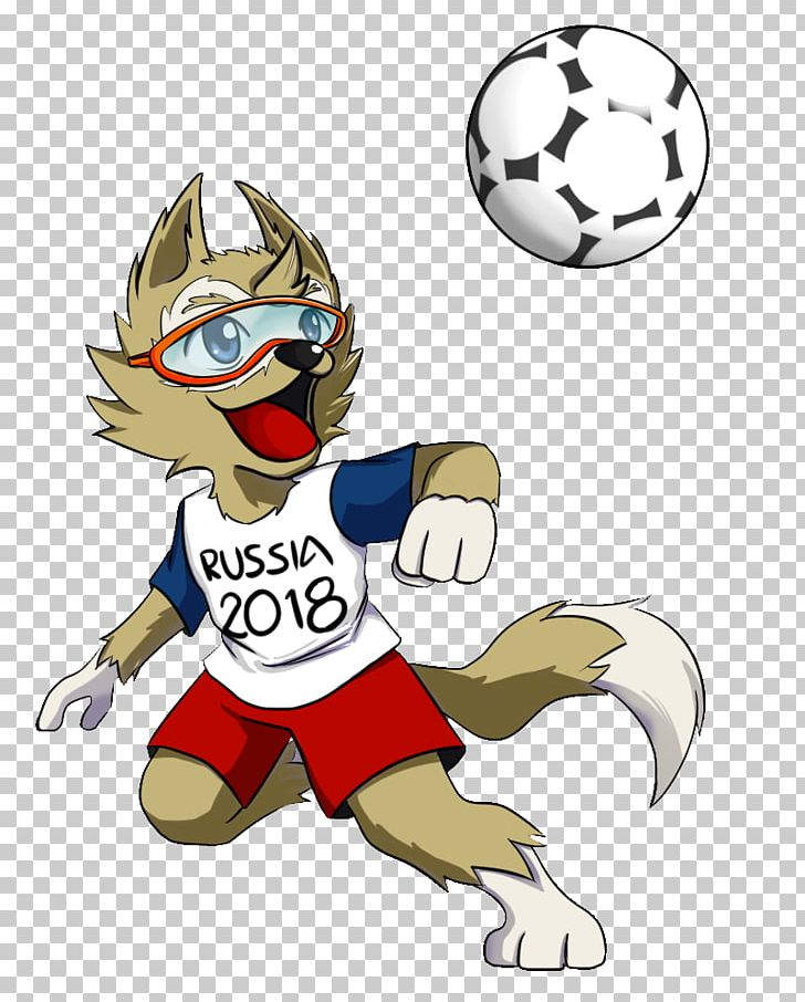 2018 World Cup Zabivaka FIFA World Cup Official Mascots PNG.