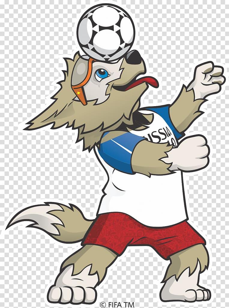 2018 FIFA World Cup Zabivaka FIFA World Cup official mascots.