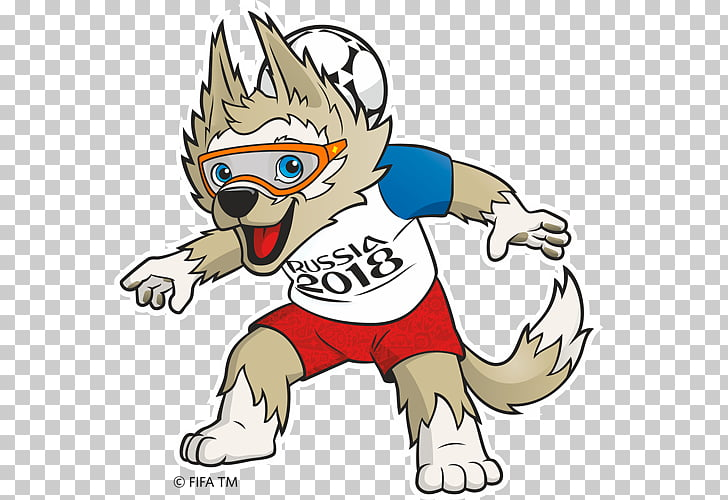 2018 World Cup Russia Zabivaka FIFA World Cup official.
