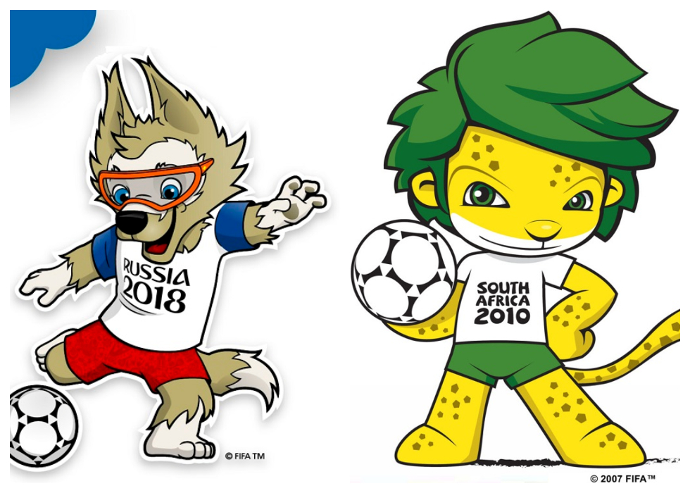 From 1966 to 2018: World Cup Mascots Throughout The Years.