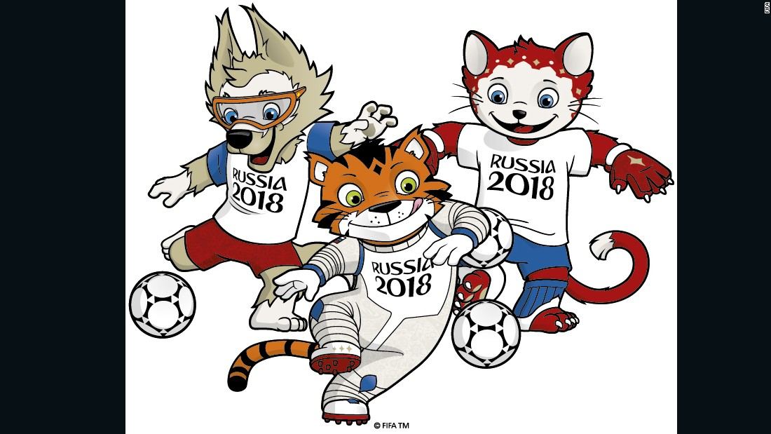A wolf, a cat or a tiger? Russians to vote on World Cup.