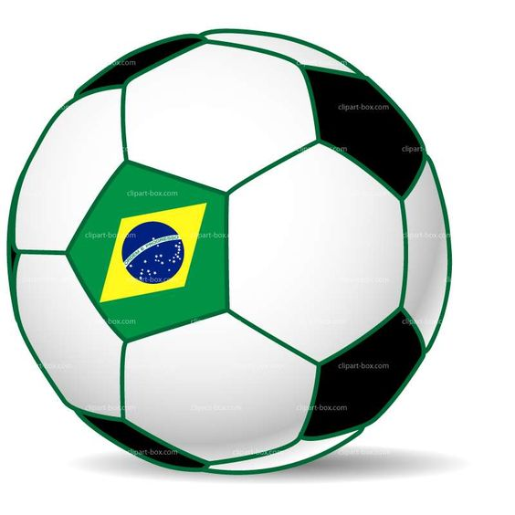 CLIPART BRAZIL WORLD CUP SOCCER BALL.