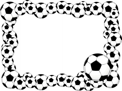 Soccer Stationary Clipart.