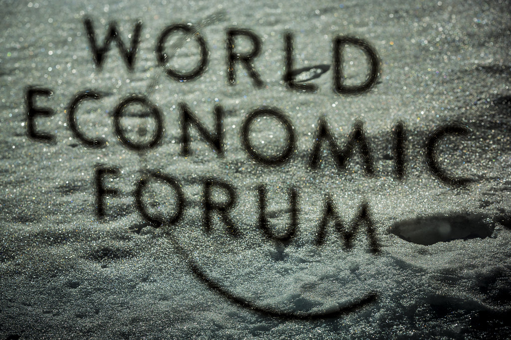 The World Economic Forum Logo.