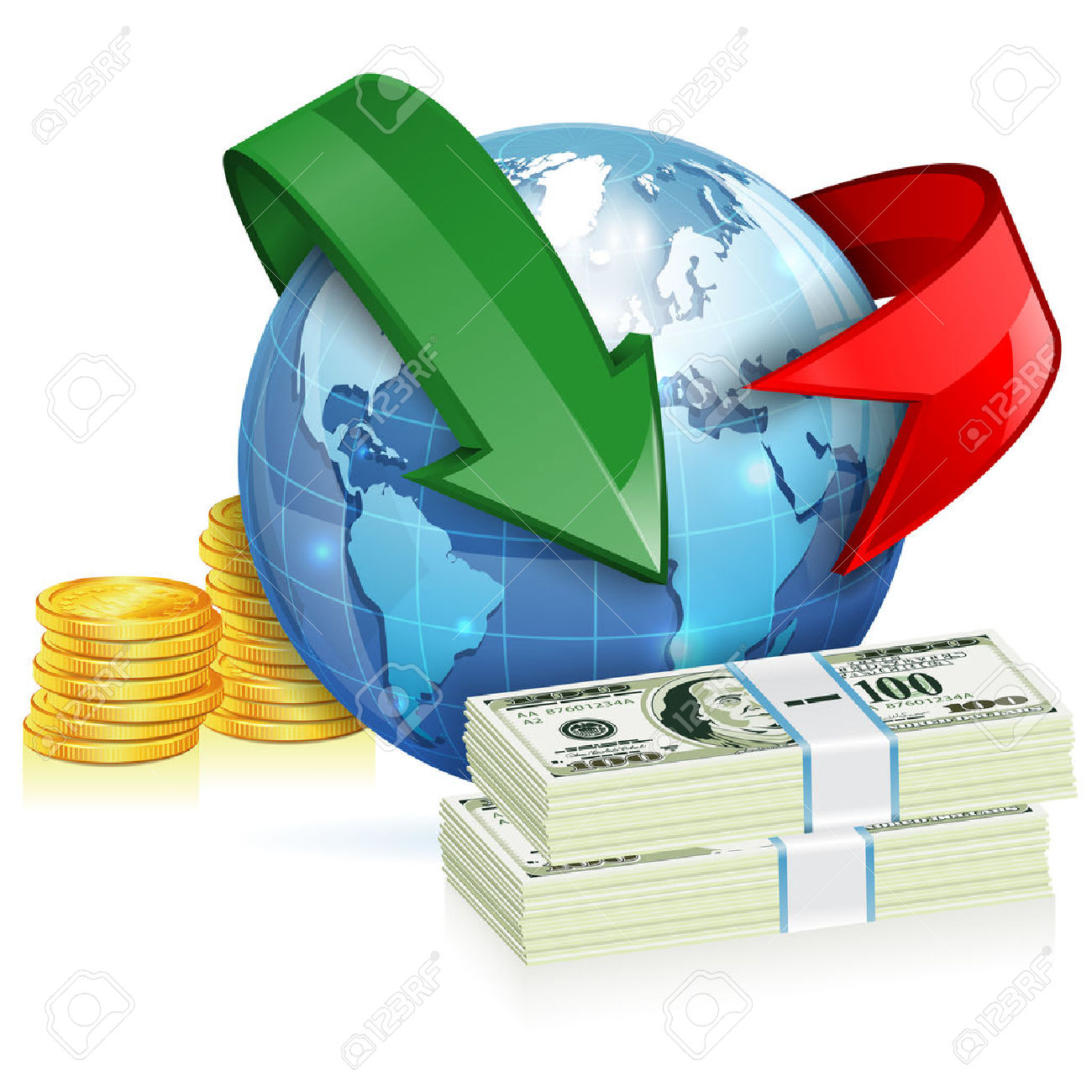44,436 Global Economy Stock Vector Illustration And Royalty Free.