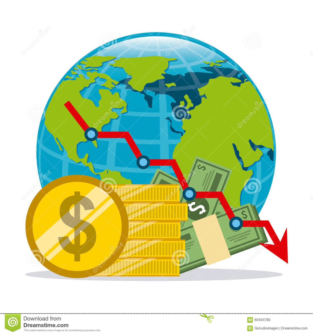Global Economy Stock Vector.