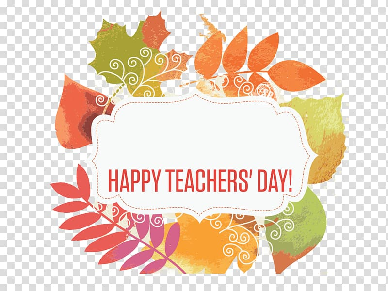 White and green background with text overlay, World Teachers.