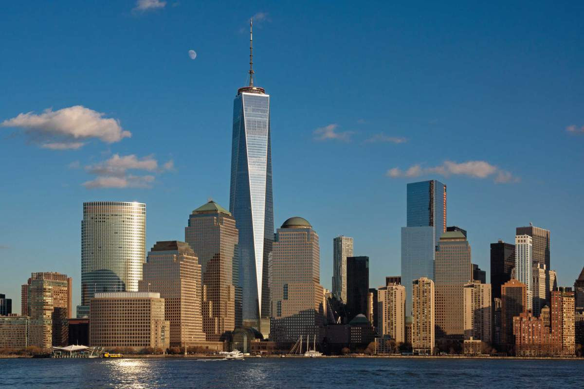 40 One World Trade Center, New York, US. Images.