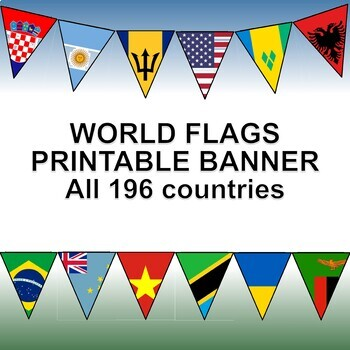 Flags and Languages of the World Bundle.