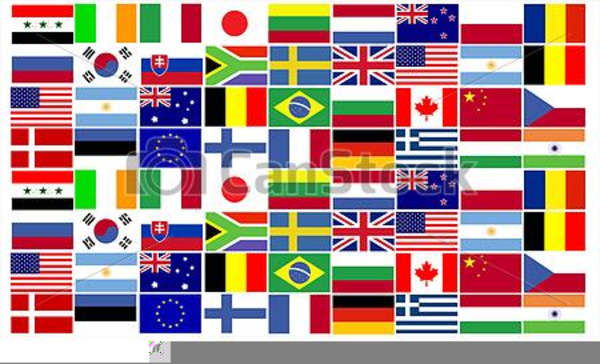 Clipart World Flags Free.