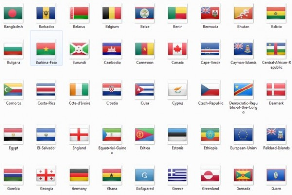 2400 Incredible World Flag Icons Pack PNG.