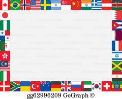 International Border Clip Art.