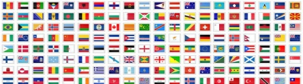 Ultimate Collection of National (Country) Flag Icon Sets.