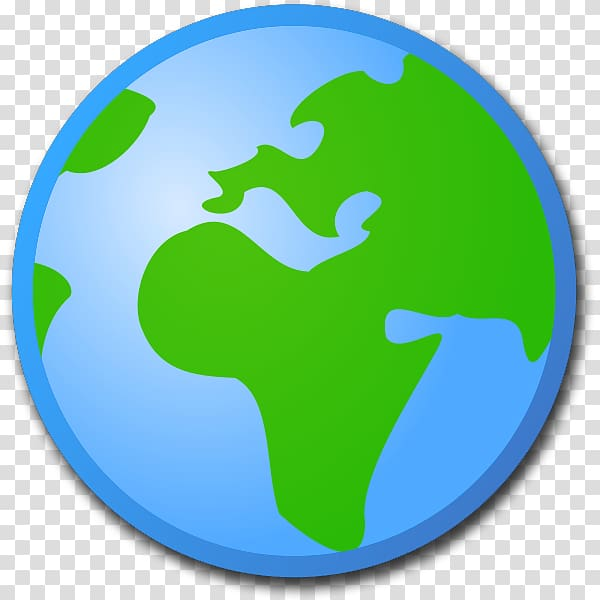 World Globe , cartoon planet transparent background PNG.