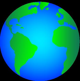 Small Globe Clipart.