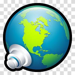 Sleek XP Basic Icons, Network Connections, globe transparent.