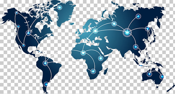 World map Globe, world connection, world map clip ary PNG.