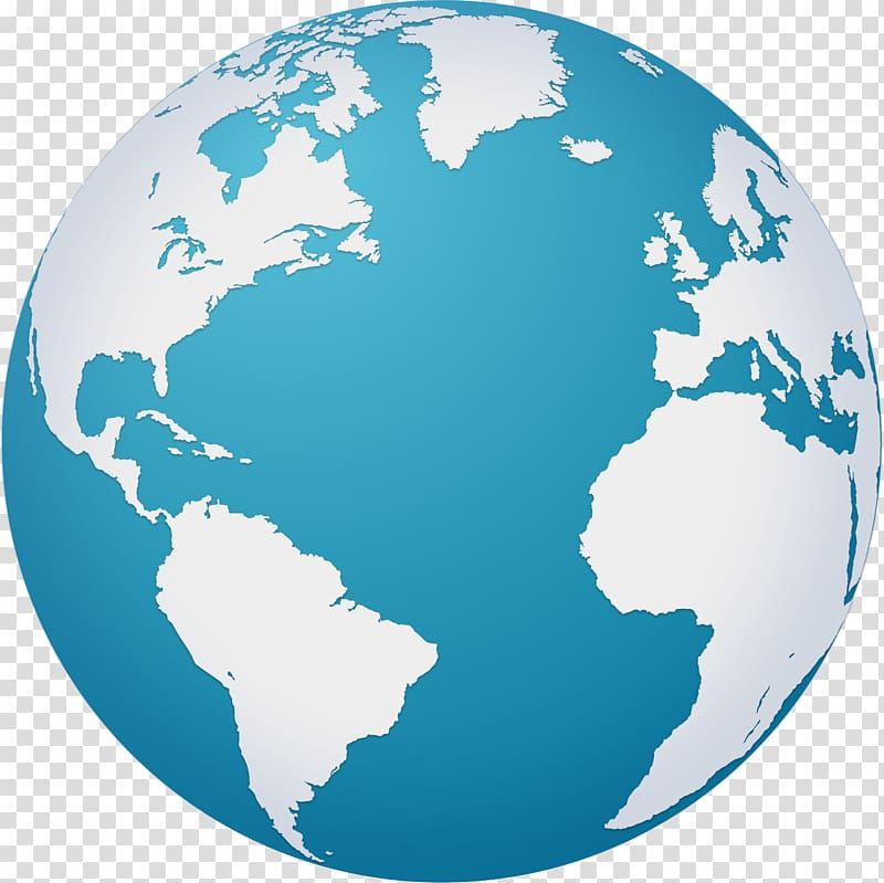 Planet earth illustration, Earth Globe World map, hand.