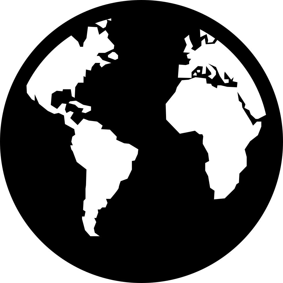 World map Globe Vector graphics.