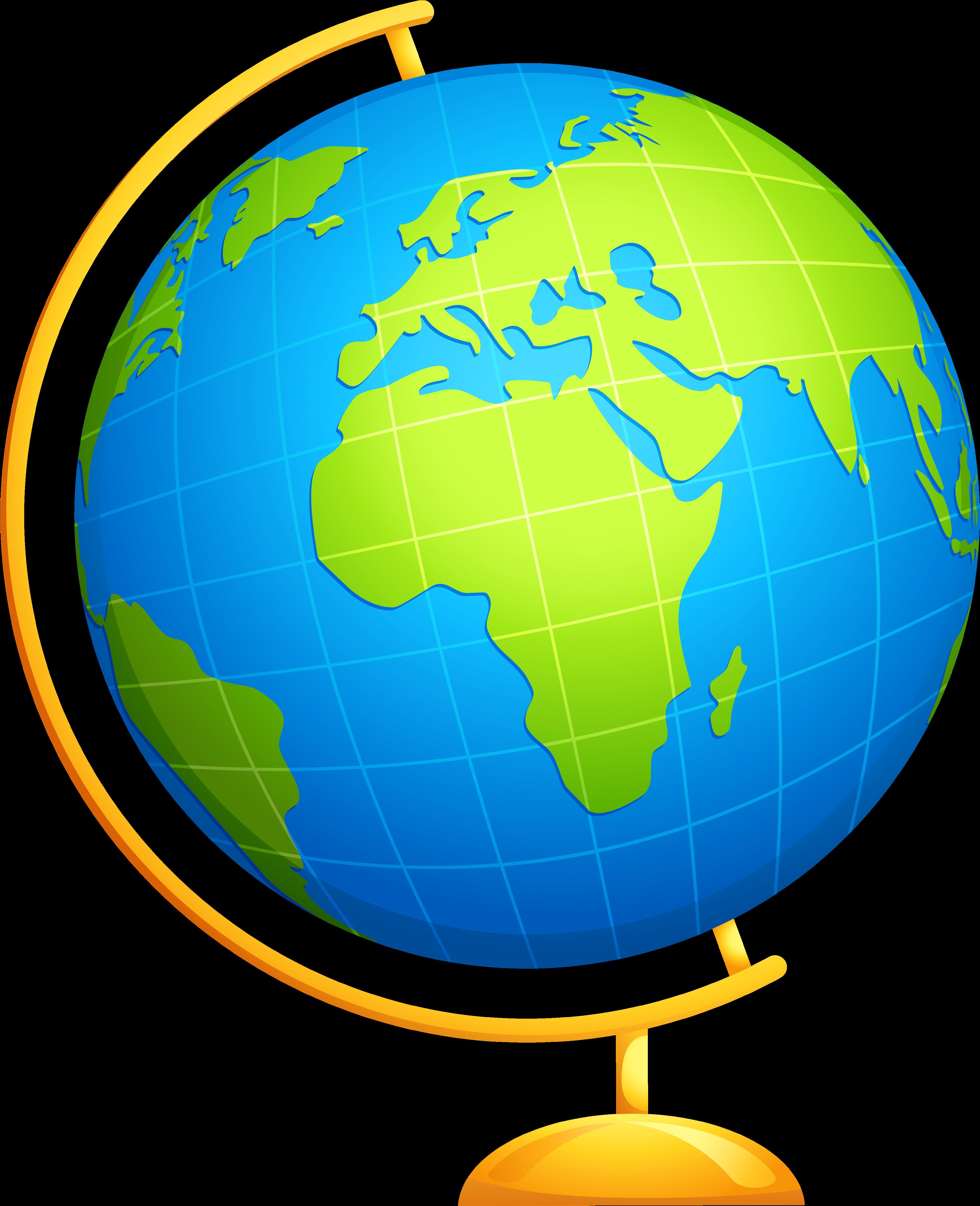 HD Free Globe Clipart Clipartxtras.
