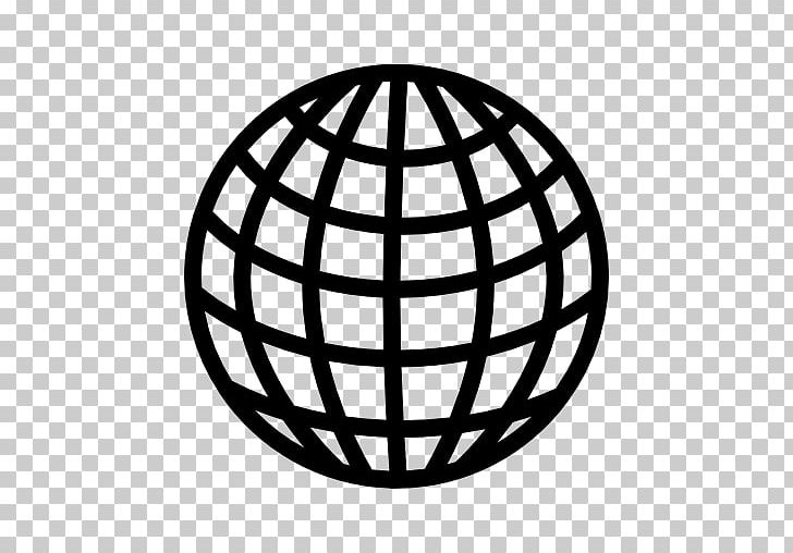 Globe Earth Grid PNG, Clipart, Black And White, Circle, Clip.