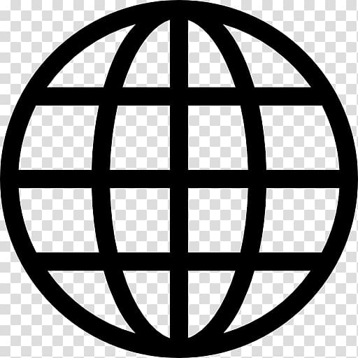 Globe World Computer Icons , grid transparent background PNG.