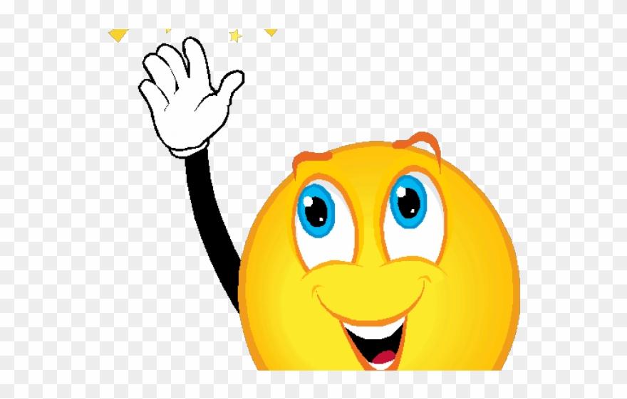 Smiley Clipart Hands.