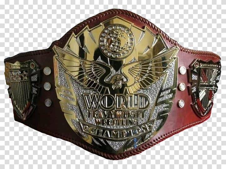 World Heavyweight Championship Championship belt.