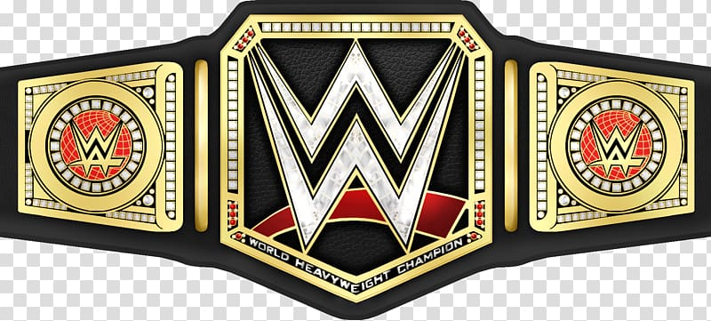 WWE title belt illustration, WWE Championship World.