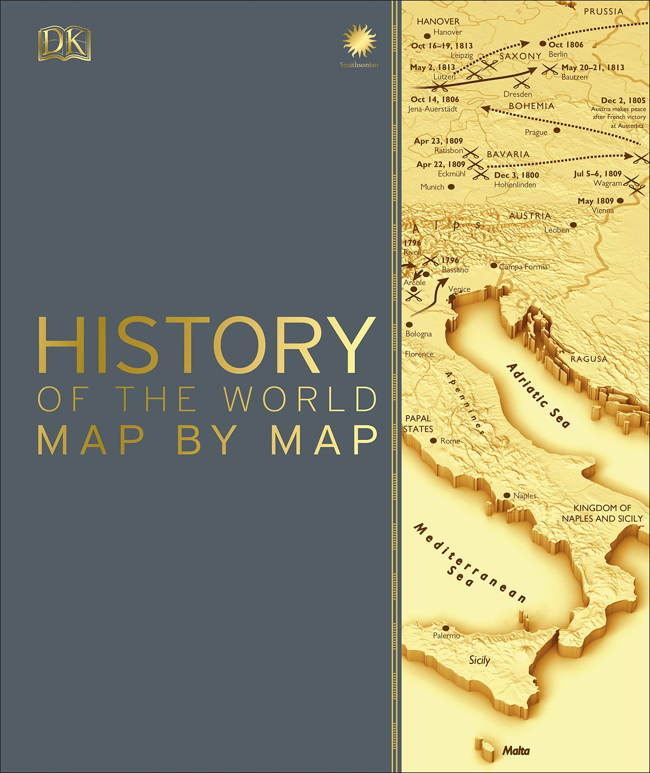 Amazon.com: History of the World Map by Map (9781465475855.