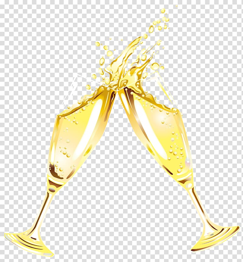 Clipart flute champagne Transparent pictures on F.