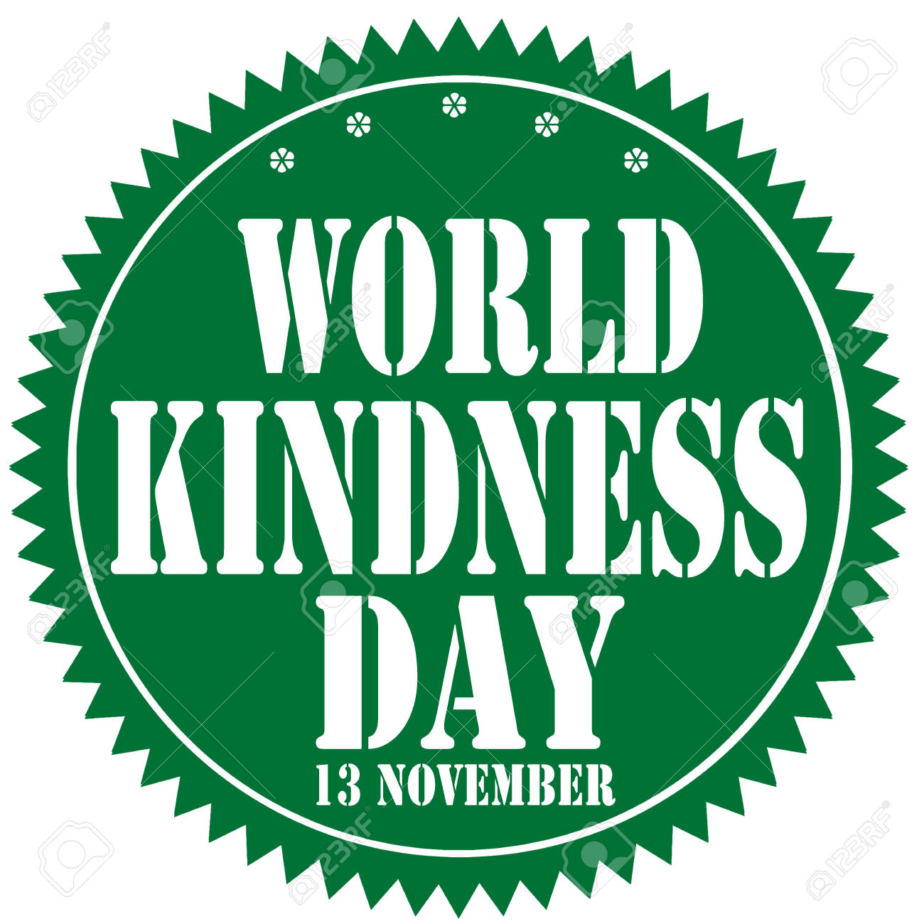 Label With Text World Kindness Day Royalty Free Cliparts, Vectors.