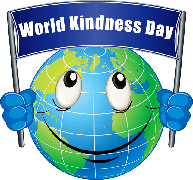 Information and Clip Art For World Kindness Day.