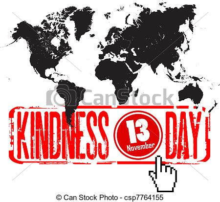 Clip Art Vector of world kindness day csp7764146.