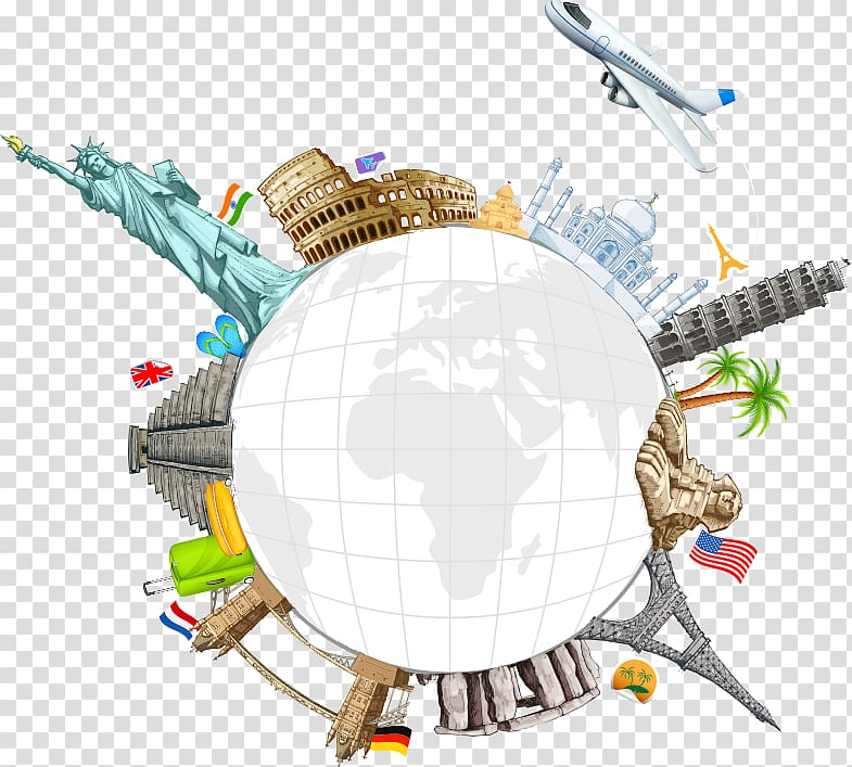 World landmark illustration, World Travel , Creative.