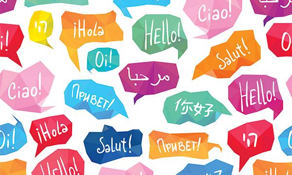 World Languages Clipart.