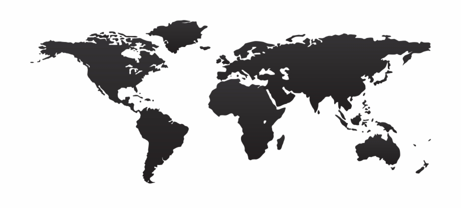 World Map Png High Resolution World Map Vector.