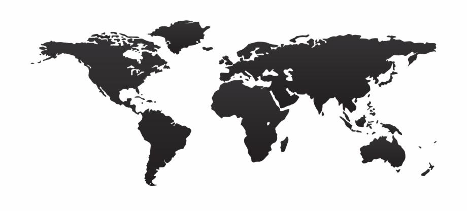 World Map Png High Resolution World Map Vector.