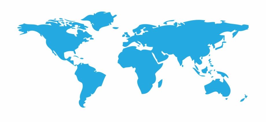 Transparent Maps 3D World High Resolution World Map.