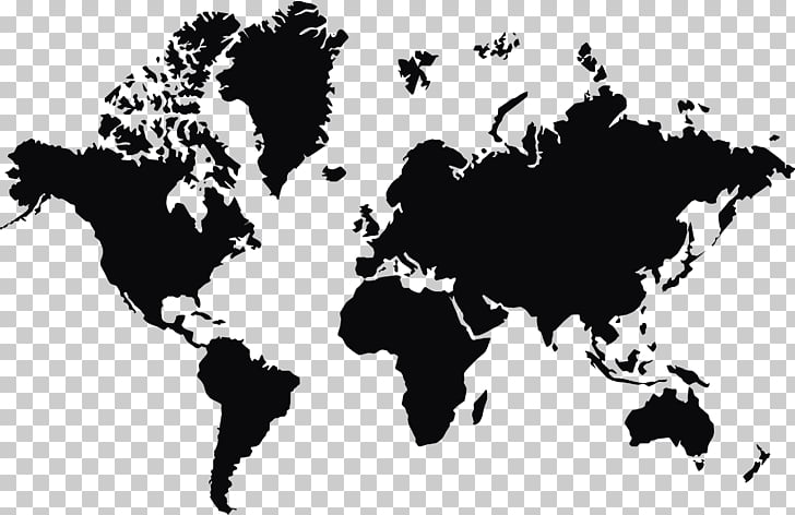 Earth World map Globe, World map , world map PNG clipart.