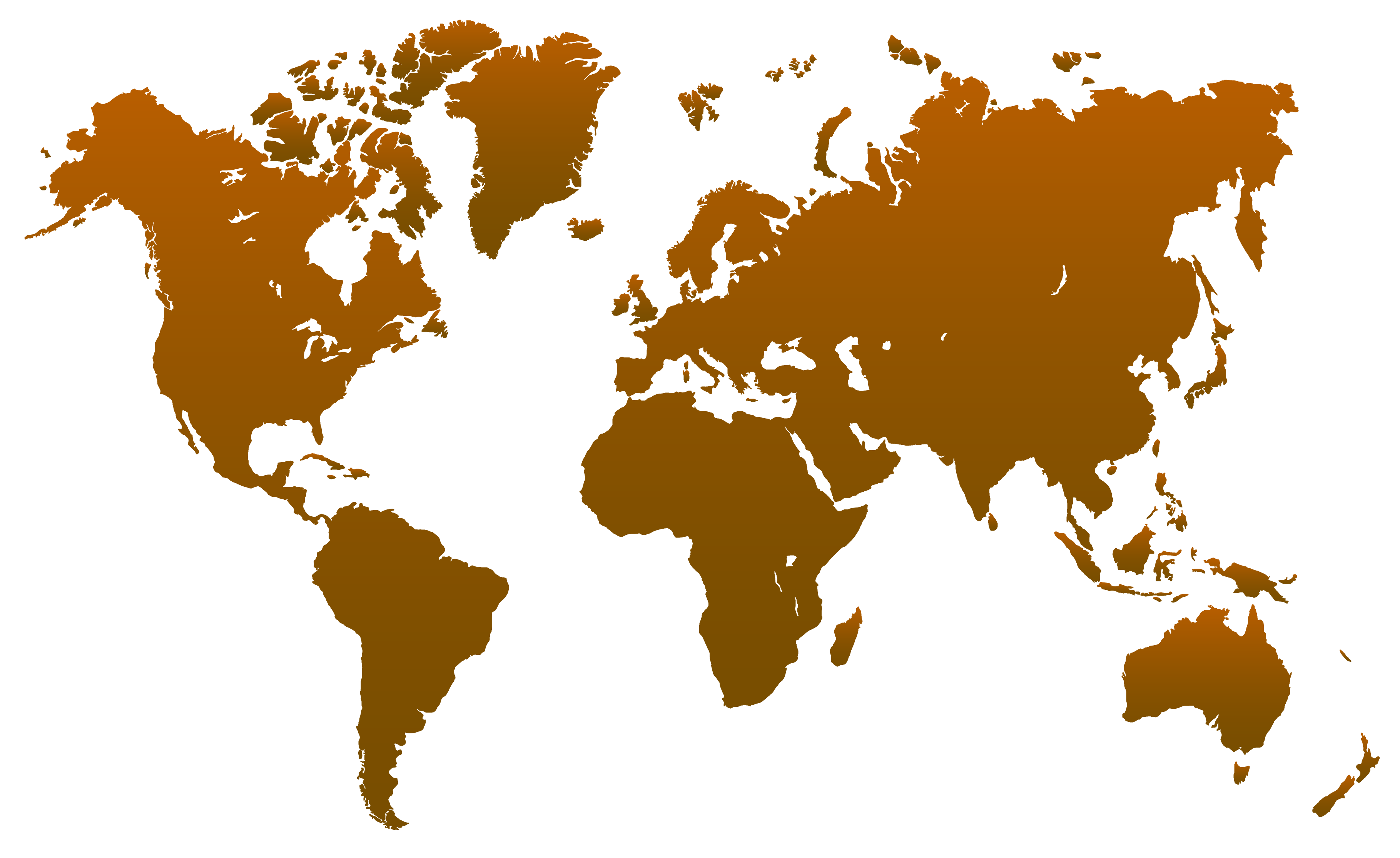 World Map transparent PNG.