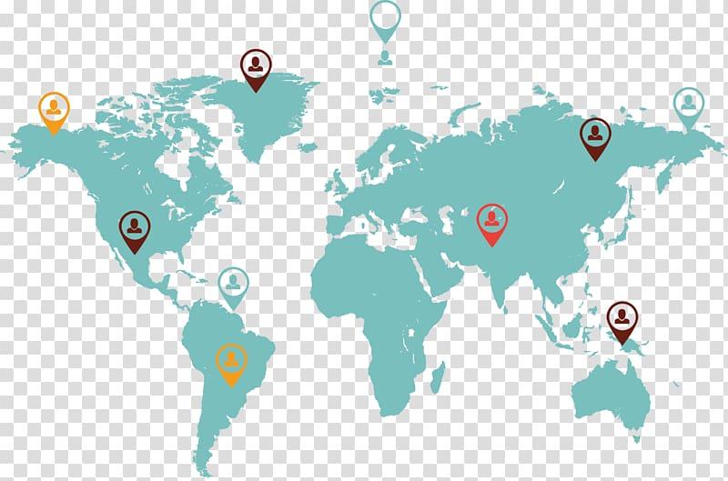 World map Globe, world map transparent background PNG.